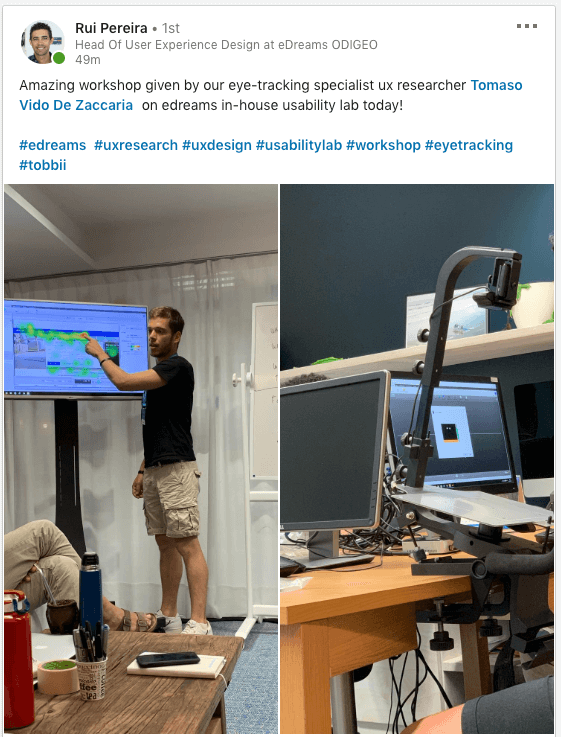 Travel UX research at scale - eDreams Usability lab