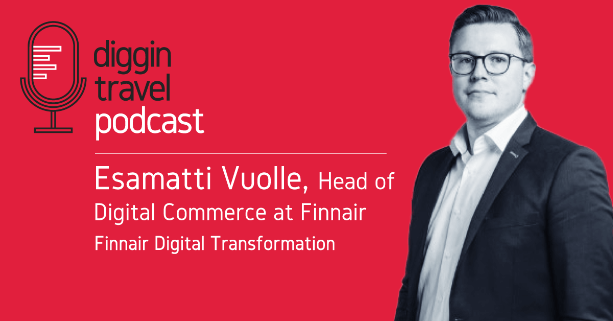 Finnair Digital Transformation with Esamatti Voulle