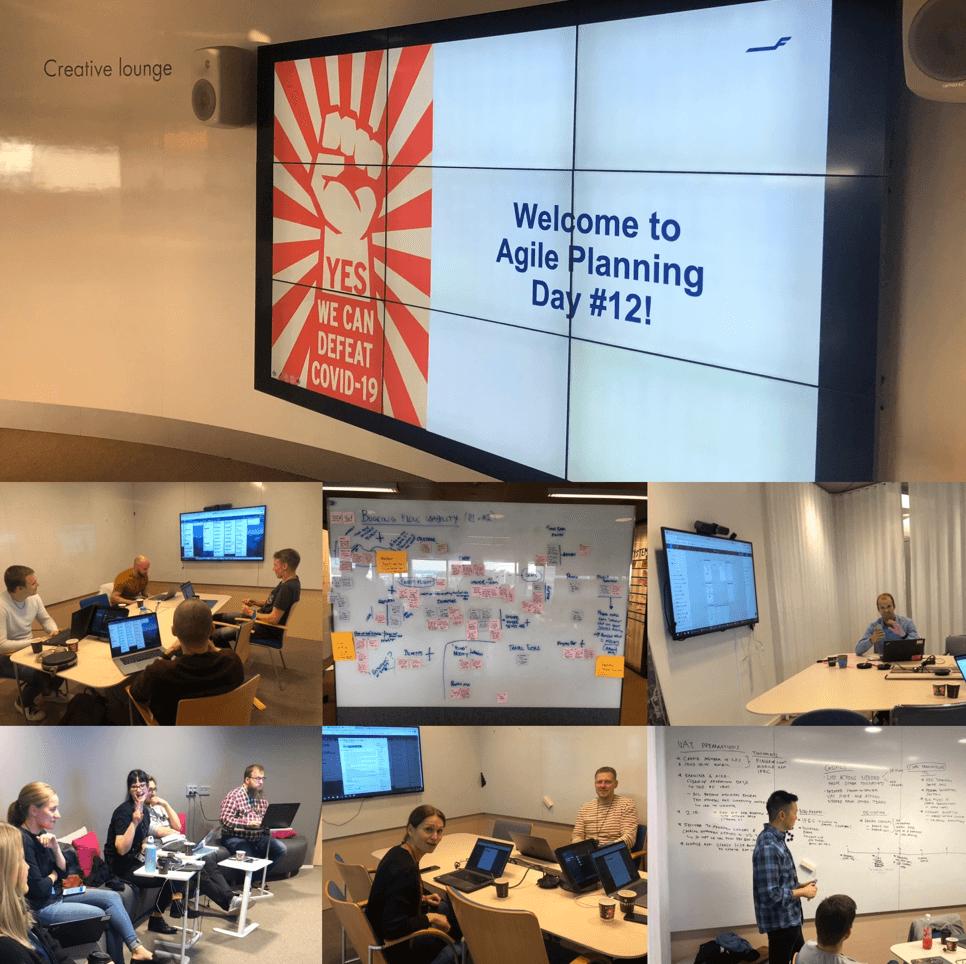 Finnair digital transformation - Agile planning day
