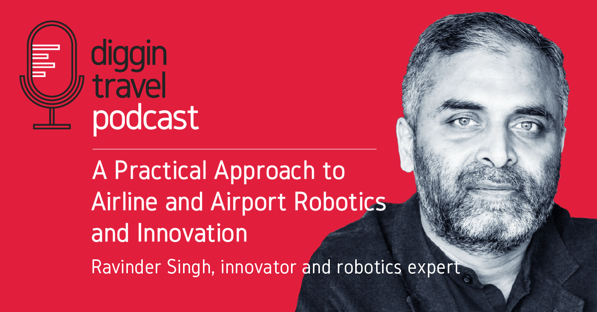 Airline and airport robotics and innovation