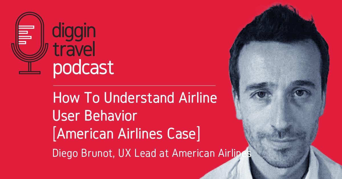 How to understand airline user behavior