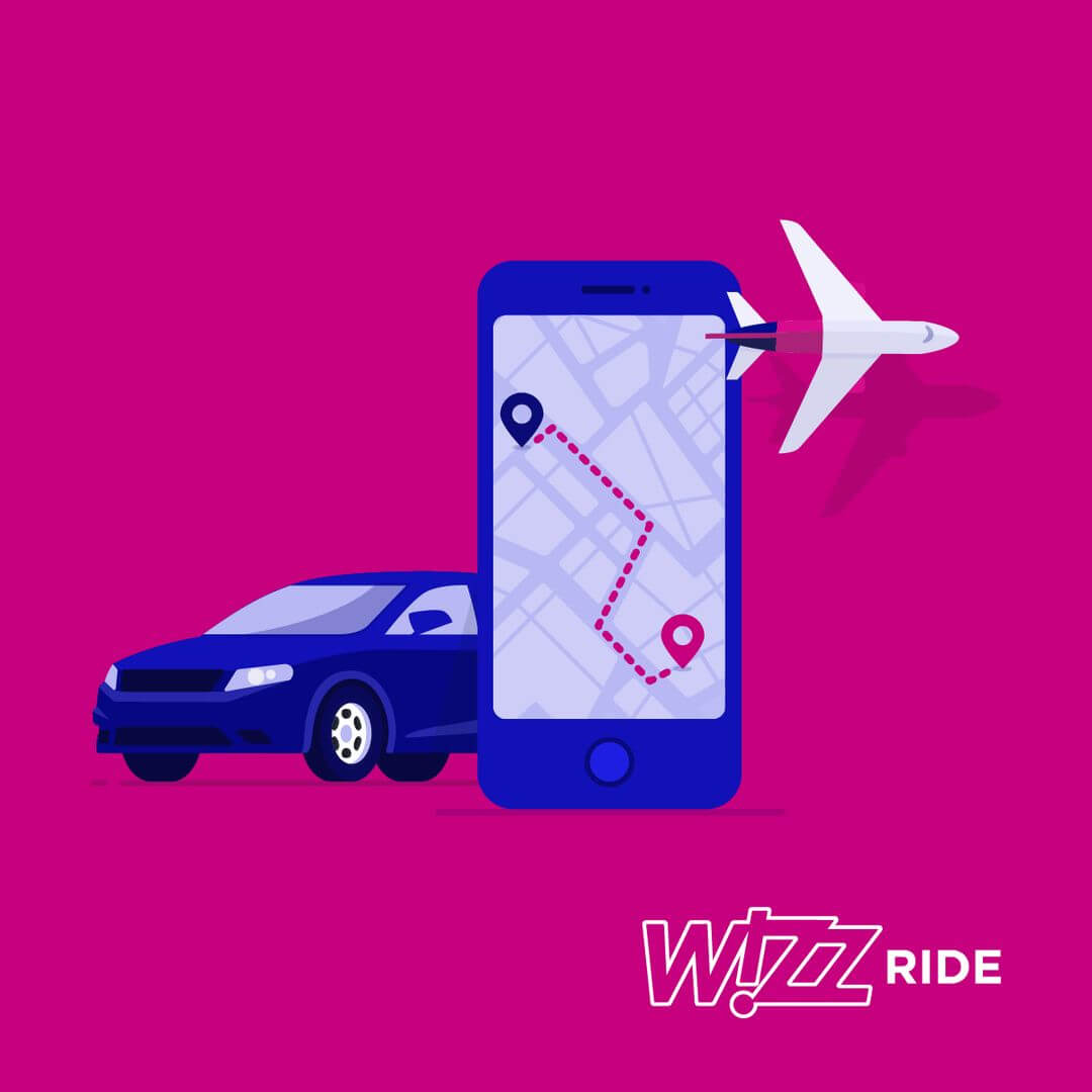 Wizz Air Ride - example of new airline digital features