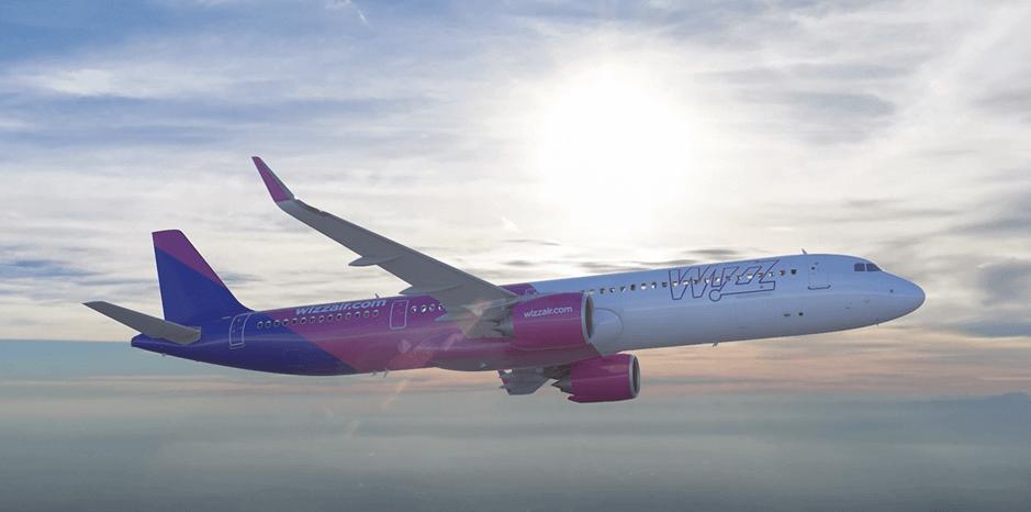 Wizz Air airplane